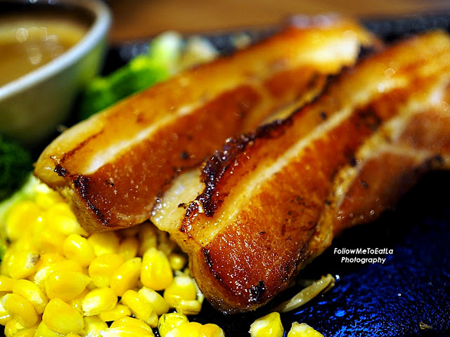 Teppan Western Pork Belly (RM 38)