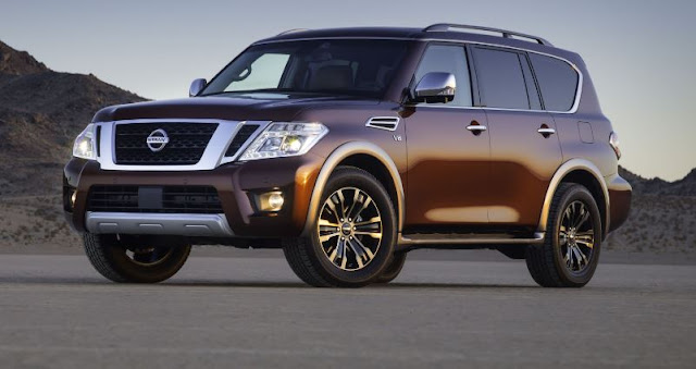 2017 latest Nissan Armada Review