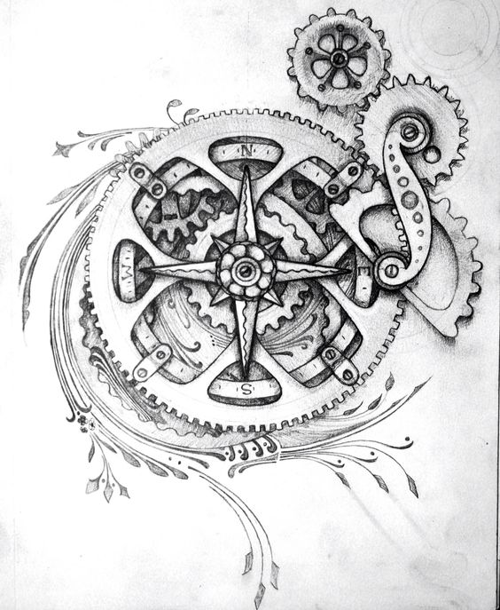 Awesome Steampunk Tattoo Ideas