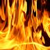 Una vivienda   resultó destruida por la acción de las llamas en campamento de Rahue Alto