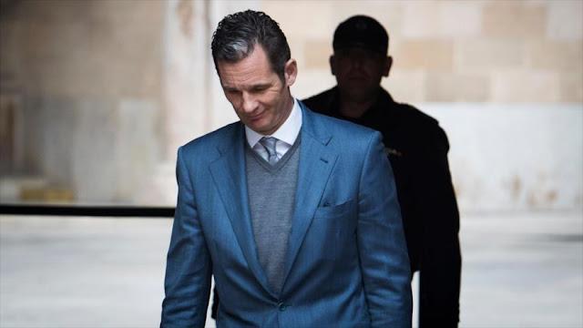 Cuñado del rey español, condenado a 5 años y 10 meses de cárcel