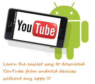 YouTube Videos download from android