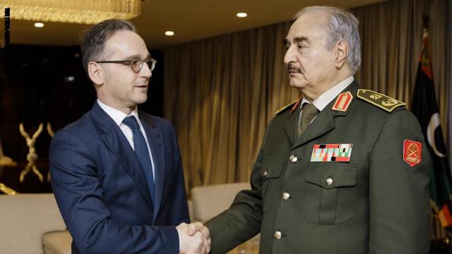 ألمانيا: حفتر ملتزم بوقف إطلاق النار في ليبيا.. وسيشارك في اجتماعات برلين