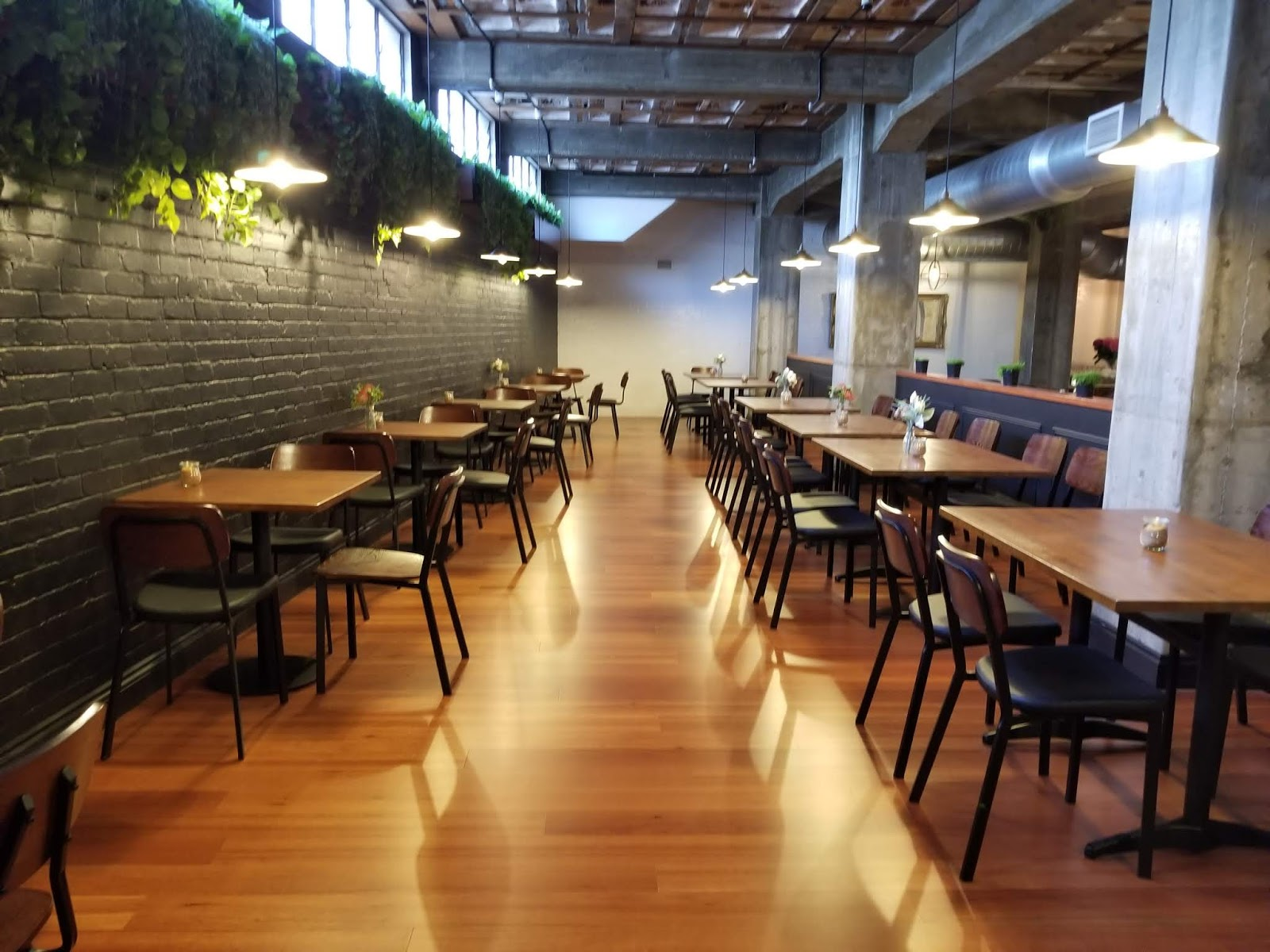 The Interior Is Quite Large For A Cafe Being Inspired By Cafes In Melbourne It Had A Very Alternate Rustic Charm To It
