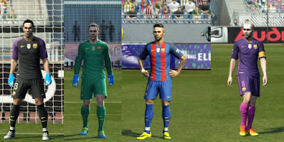 PES 2013 Update Kits 2016-17 15 July 2016 by Strex-Kitmaker