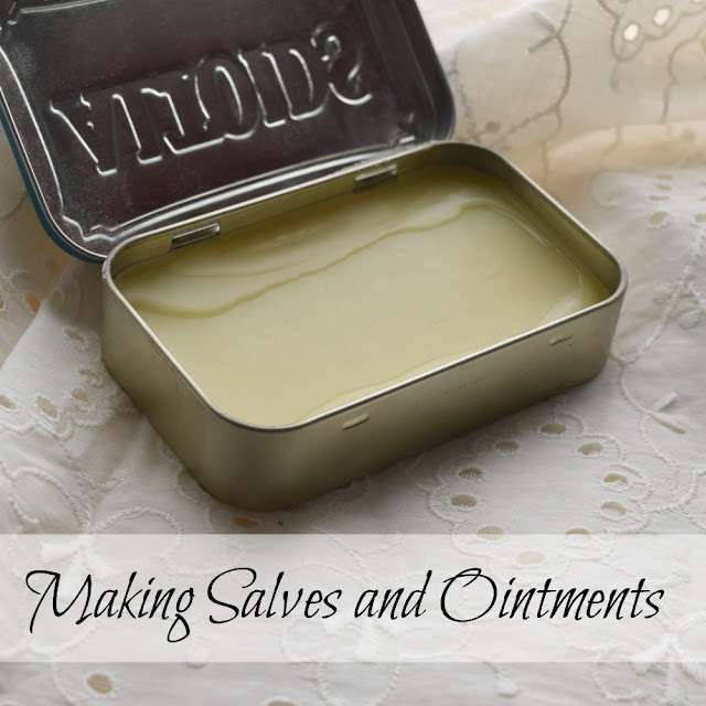 Making salves and ointments