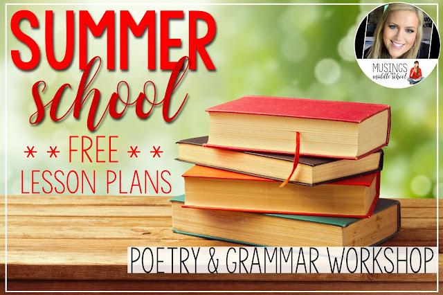 Summer School Free Lesson Plans
