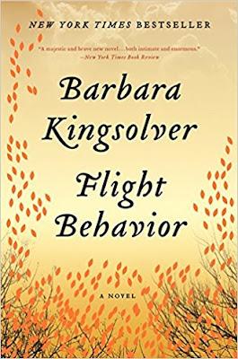 Flight Behavior by Barbara Kingsolver (Book cover)