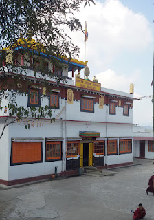 The building of the Ghum Monastery, Darjeeling