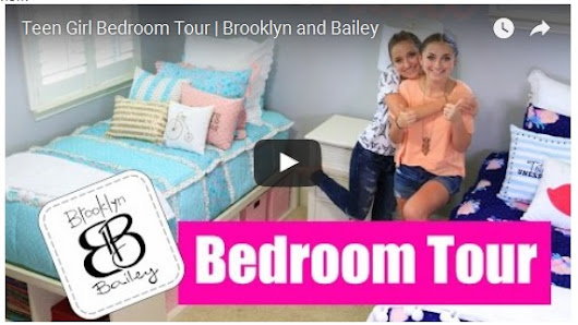 Teen Girl Bedroom Tour