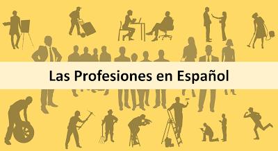 profissões em espanhol