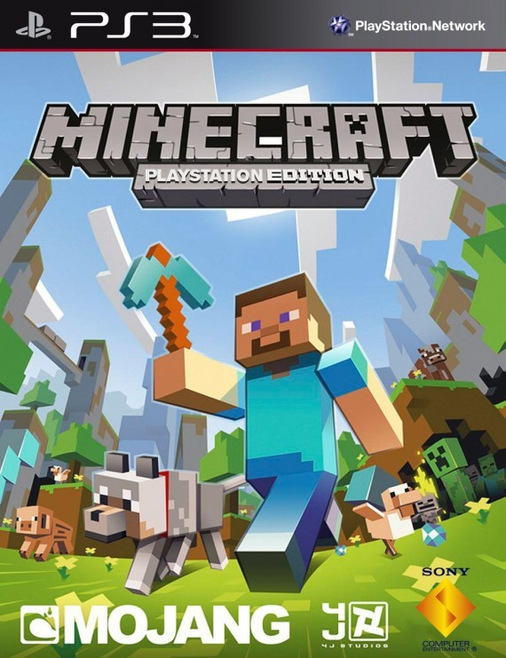 jebli games: Minecraft [PS3] PKG