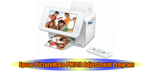 Epson PictureMate PM310 Printer Adjustment Program