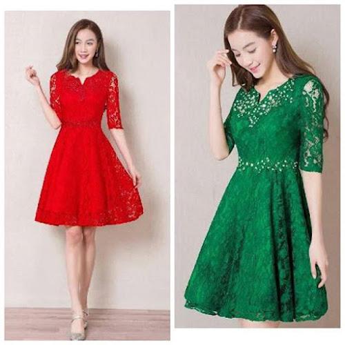 jual dress merah jakarta, surabaya, semarang