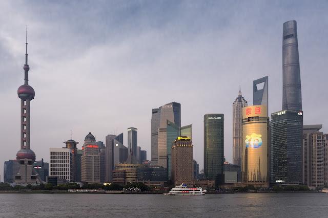 šanghaj, shanghai, Pudong, Bund, čína, china, cestování