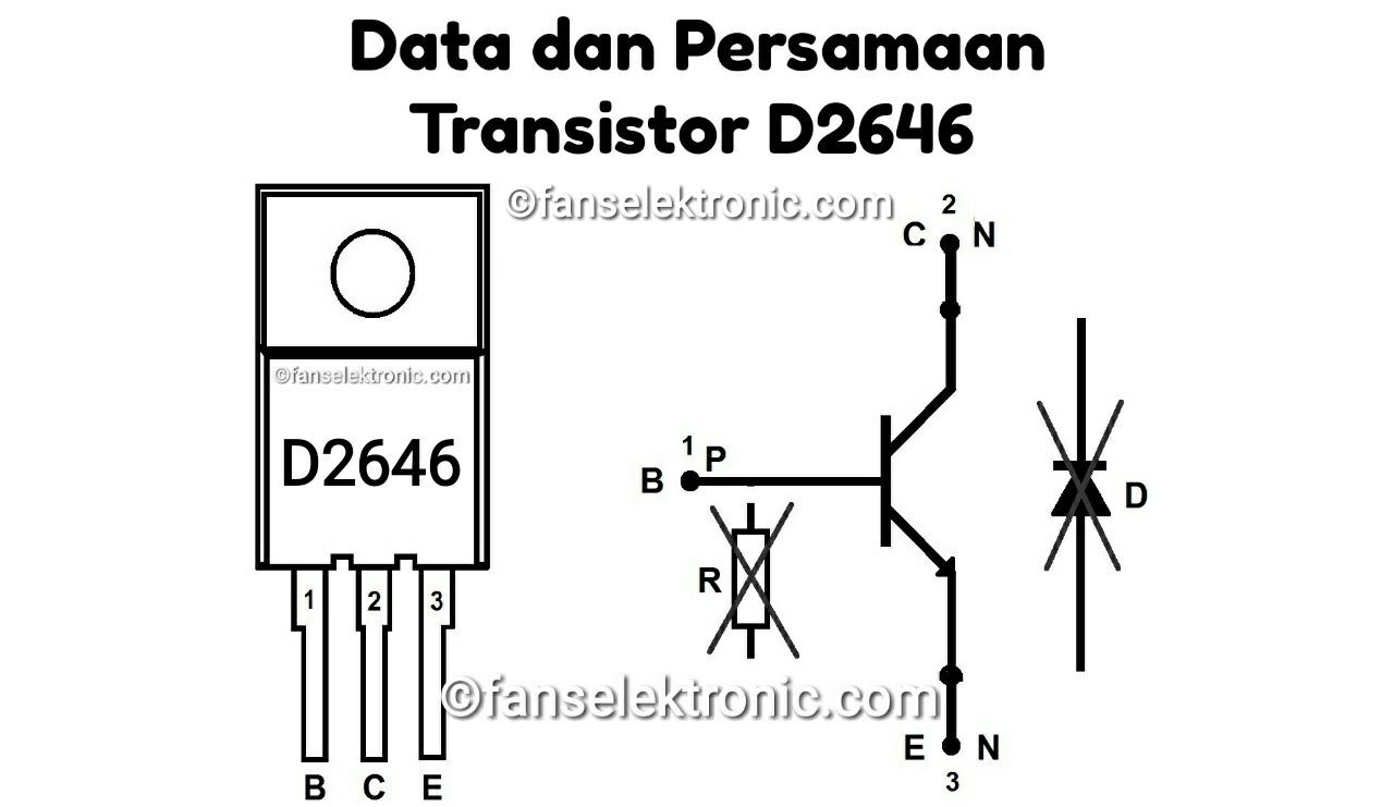 Persamaan Transistor D2646