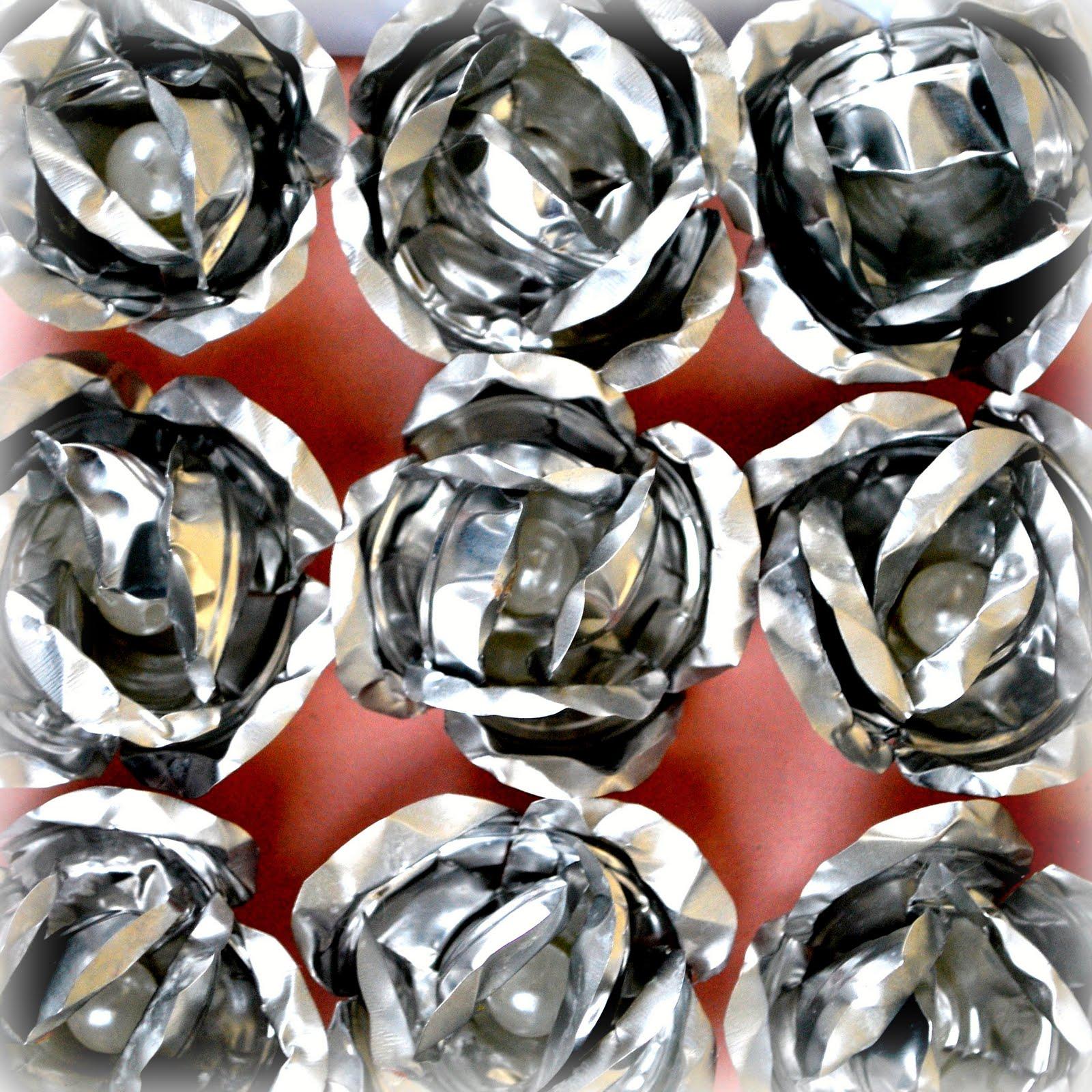 ORK'IDEA ATELIER: COME CREARE ROSE riciclando L'ALLUMINIO / Roses from aluminium