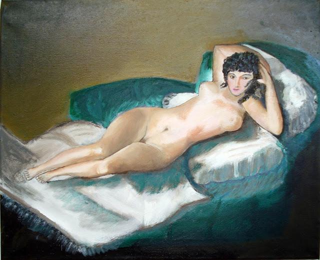 El Blog De Pintura De Pilar Gallego La Maja Desnuda