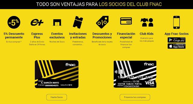 Ventajas Club Fnac