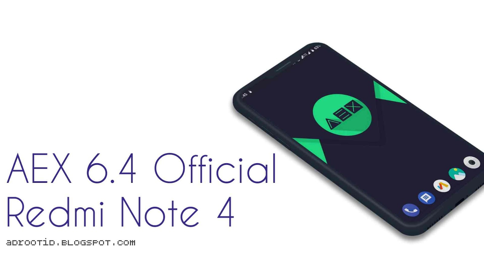 Rom aex 6.4 redmi note 4