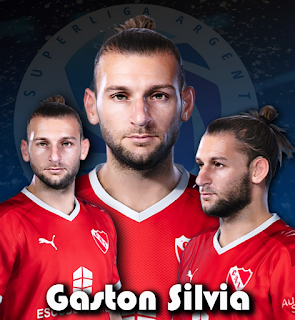 PES 2020 Faces Gaston Silvia by Gordoumbanda