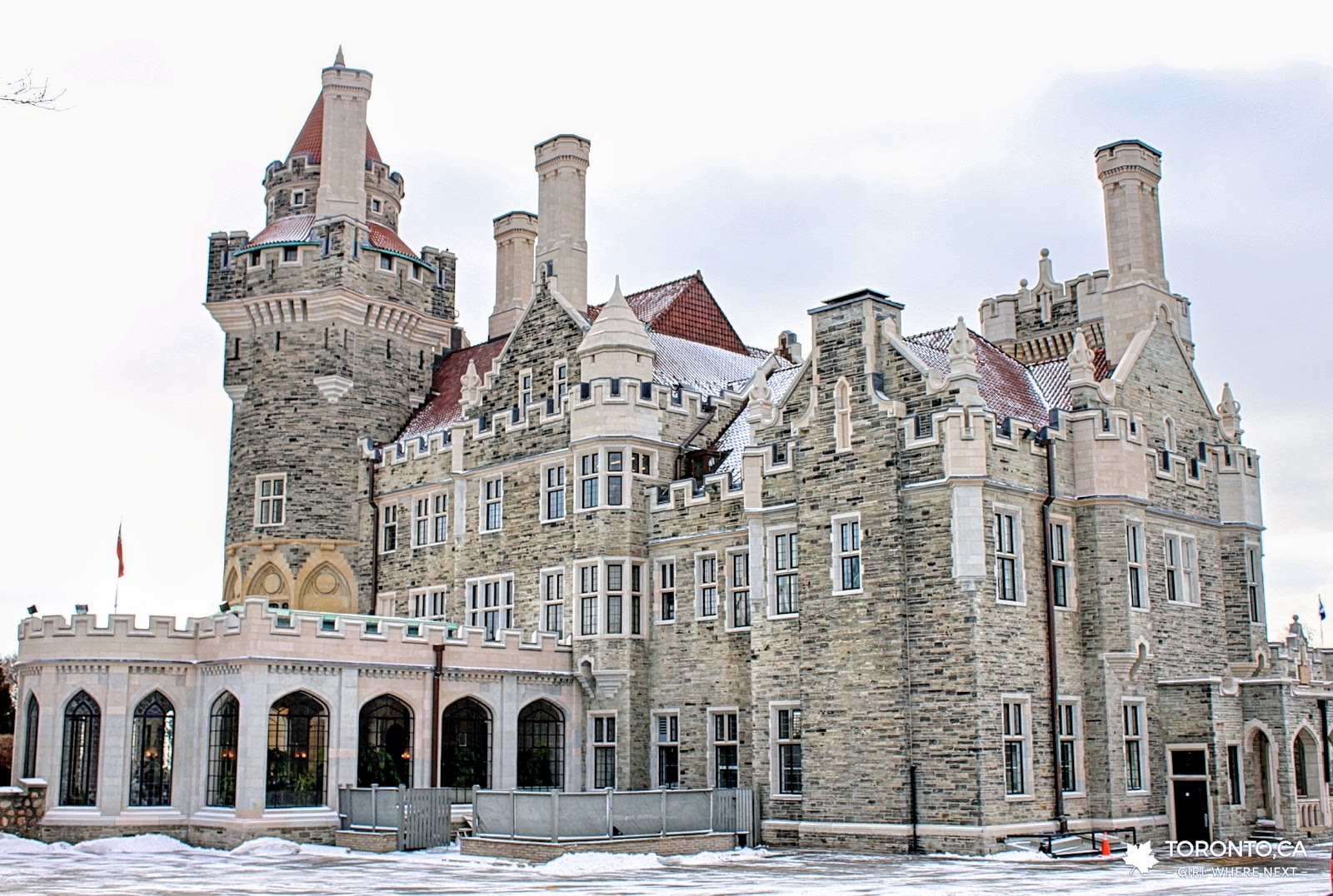 【加拿大】多倫多 卡薩羅馬城堡 (Casa Loma):城市中的百年古典城堡