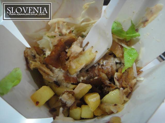 doner box Kedai kebab halal Ljubljana