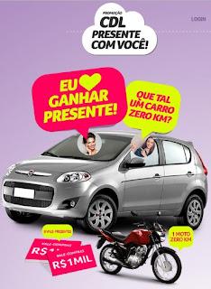 Cadastrar Promoção Presente Com Você CDL Caxias do Sul