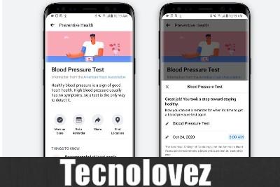 Facebook Preventive Health - Nuova funzione per consentire agli utenti di prendersi cura della propria salute
