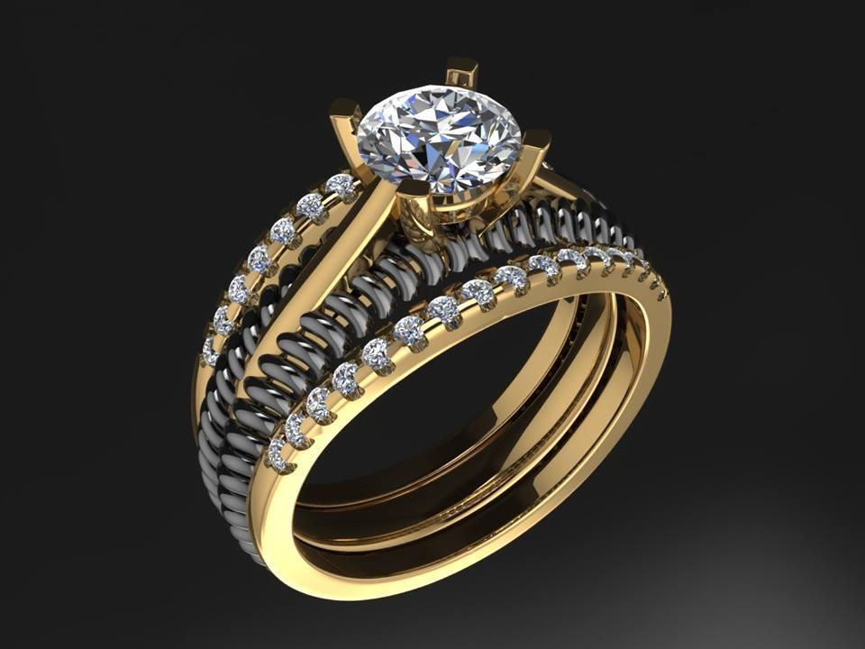 CHENNAI MATRIX RHINO GOLD JEWELLERY 3D CAD DESIGN ZBRUSH