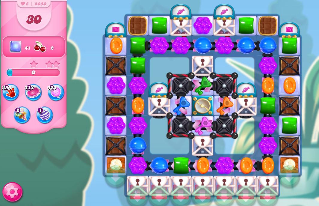 Candy Crush Saga level 8030