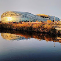 Images of Dublin: Aviva Stadium and the River Dodder