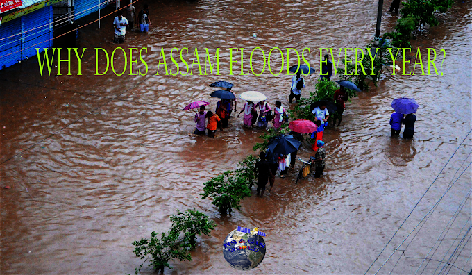 Why Assam, India Face Flood Every year?