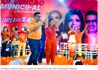 Justiça proíbe eventos de campanha em São Vicente do Seridó, coligação poderá ser multada
