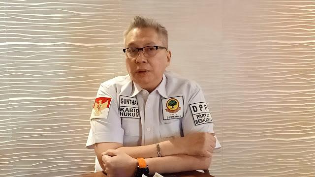 Ketua Bidang Hukum Partai Berkarya Minta DPW Tak Lakukan Pengancaman kepada DPRD