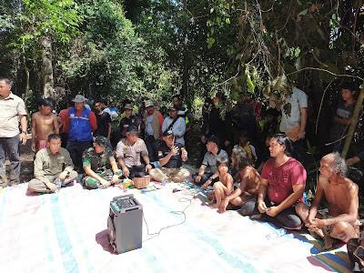 Pesta Buah, Sukandar Ajak Pimpinan Forkopimda Tebo Sambangi Hutan SAD Tanah Garo