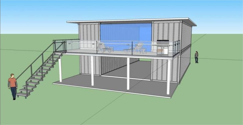 40 foot container home plans container home for Container design software