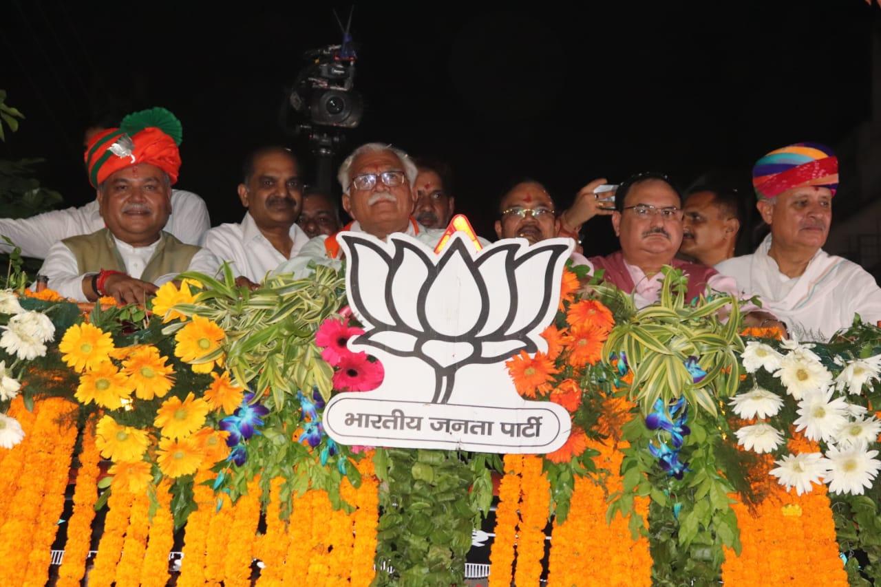 भाजपा 'कार्यकर्तावाद' में और दूसरे दल 'परिवारवाद' में करते हैं विश्वास : जेपी नड्डा