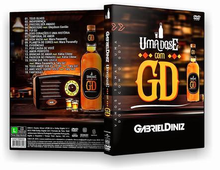 DVD - GABREL DINIZ UMA DOZE COM GD 2019 - ISO