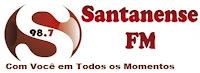Rádio Santanense FM 98,7 de Itaúna MG