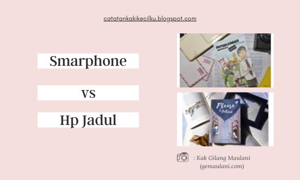 Hasil Foto Menggunakan Smartphone vs Hp Jadul