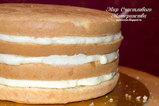 торт с кремчизом