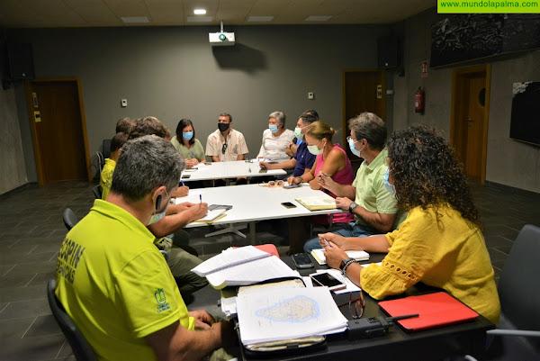 El Cabildo y los ayuntamientos definen las medidas de prevención ante el incremento de actividad sísmica en Cumbre Vieja