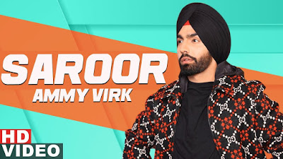 Saroor lyrics-Ammy Virk | Sargun Mehta  | latest Punjabi Songs