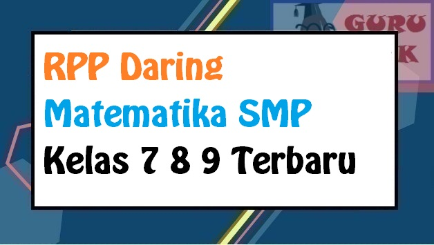 gambar contoh RPP daring matematika SMP