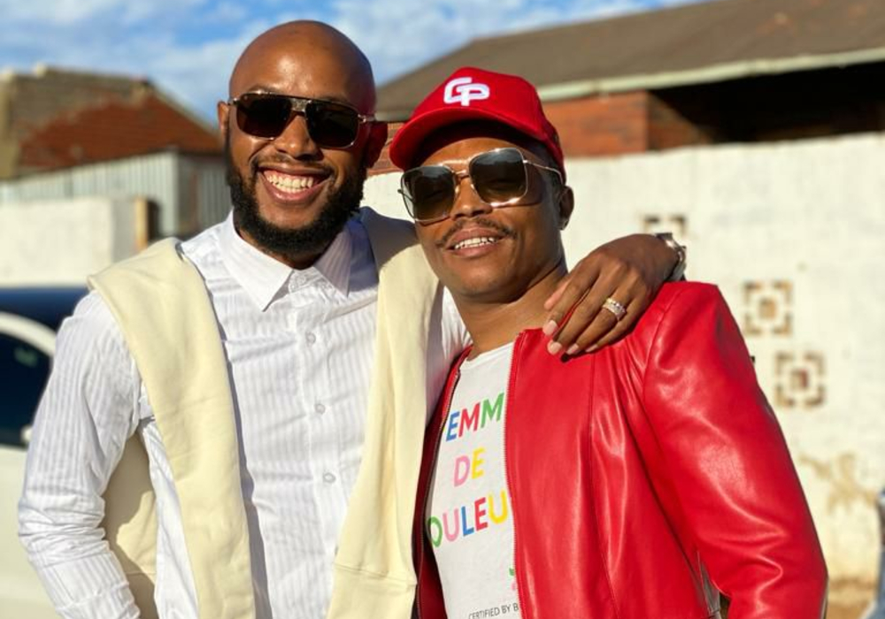 Fans Believe That Somizi And Mohale Are Not Affectionate With One Another!