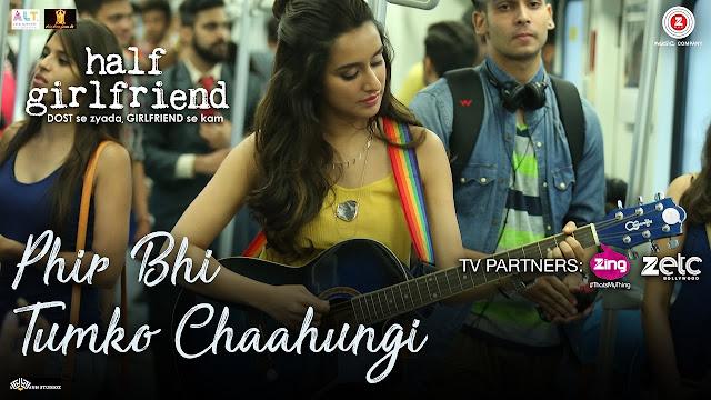main phir bhi tumko chahungi female version lyrics