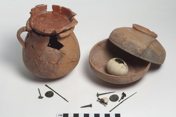 2,000 Years Old Roman Pots Containing Demon Traps