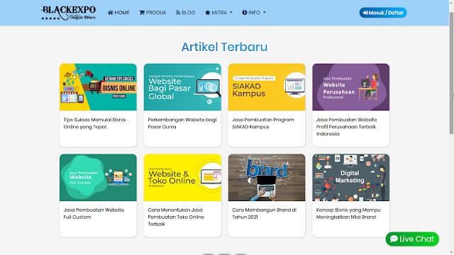 Aplikasi Web Toko Online Professional 4