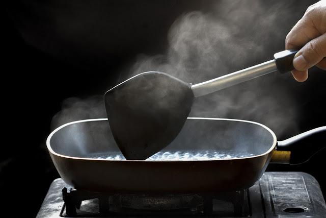 geen rook meer in de keuken, boter, rookpunt, temperatuur